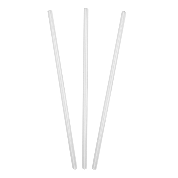 6mmx230mm Clear Plastic Straw