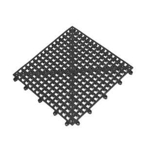 Glass Mat Black 30 x 30 cm