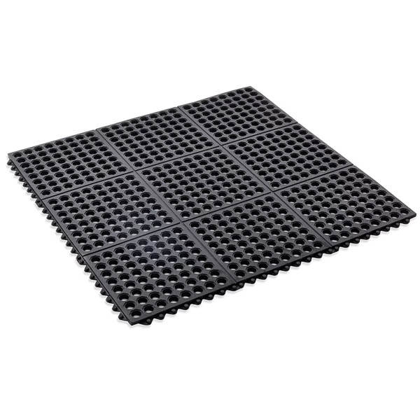 Black click mat interlocking