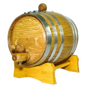 2 Liter Oak Barrel