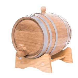 5 Liter Oak Barrel