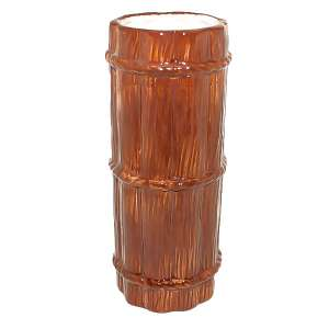 Brown Bamboo Tiki Mug 12oz