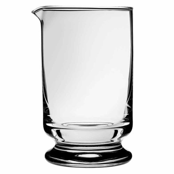 Calabrese Footed Mixing Glass barpros
