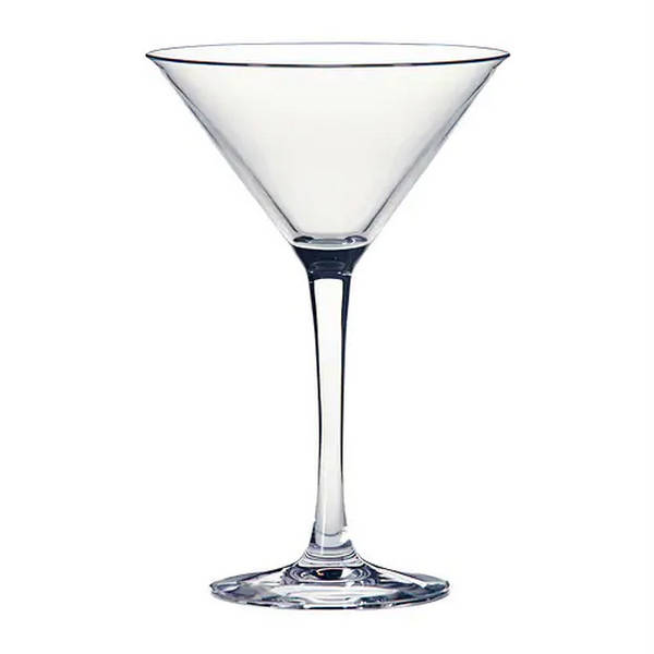 Acrylic Martini Glass 9oz