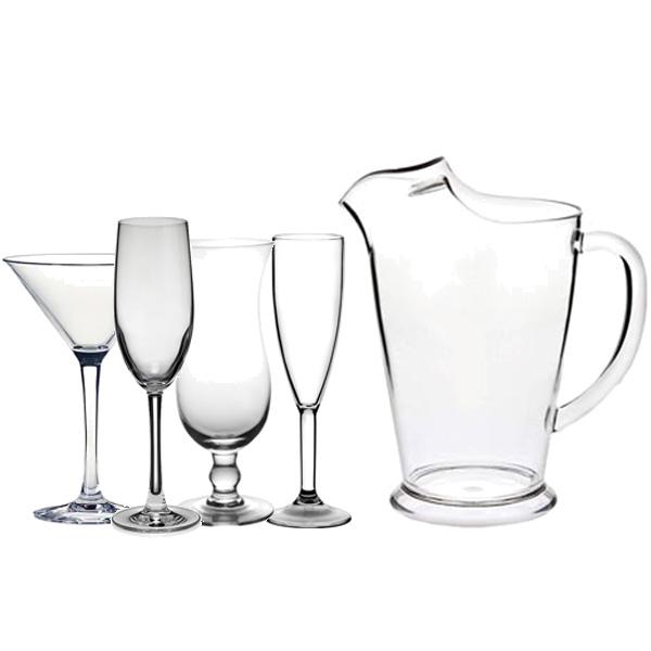 acrylic-glassware