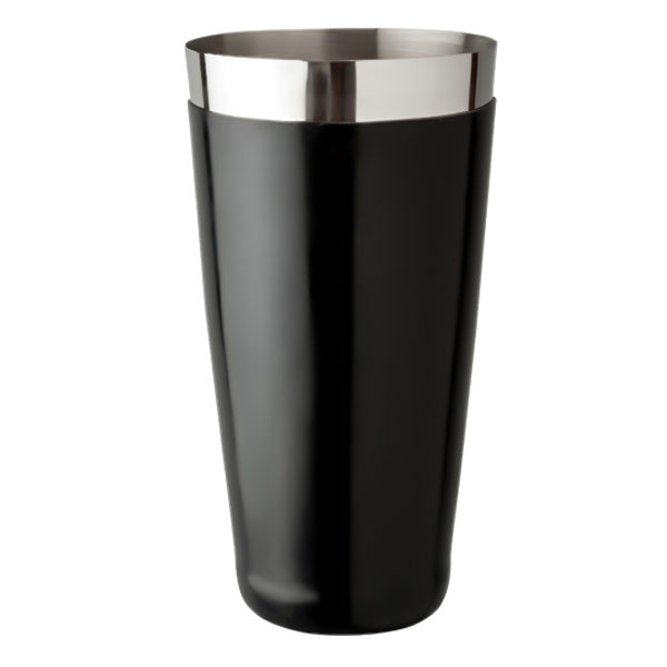 Black Vinyl Boston Shaker