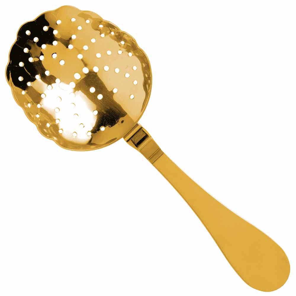 Julep Locking Strainer Gold Plated