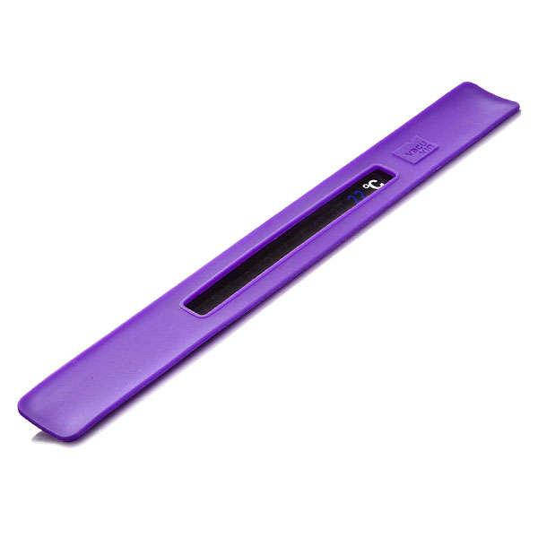 Vacu Vin Snap Thermometer Purple Cel