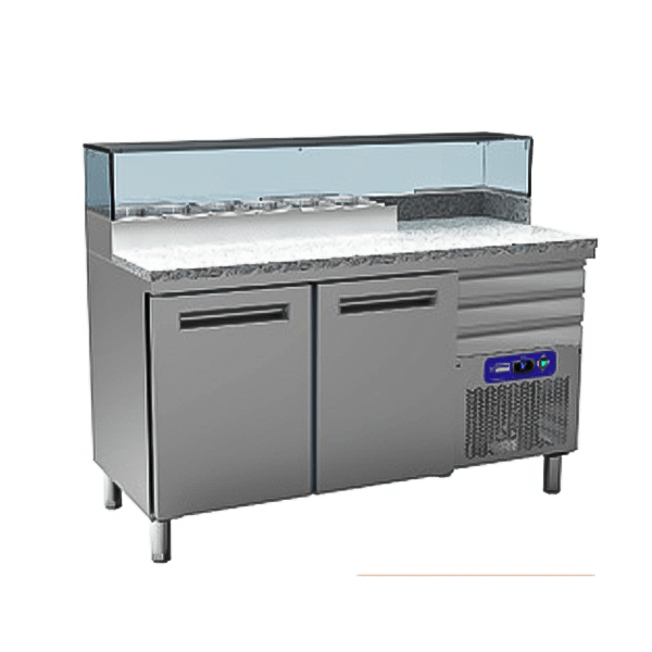 Cooling table for Pizzeria-MR-Pizza/CP