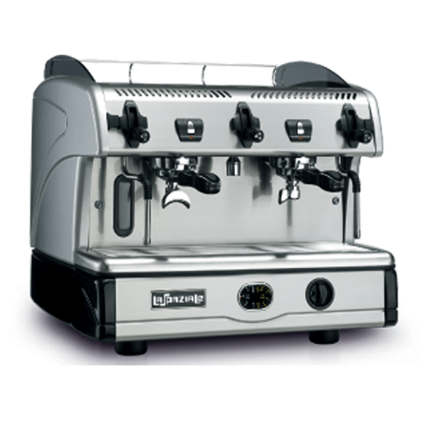Semiautomatic coffee machine with free-flow delivery
