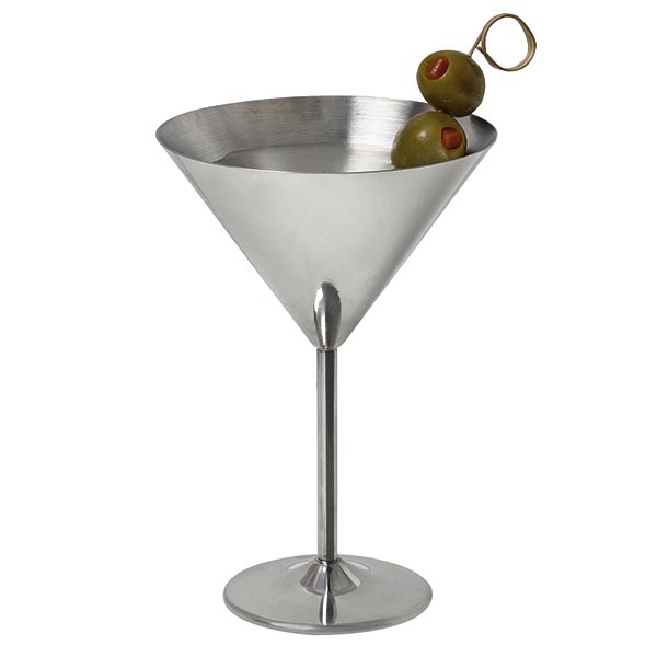 Stainless Steel Martini