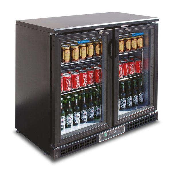 Backbar Cooler ( 2 sliding glass Doors )