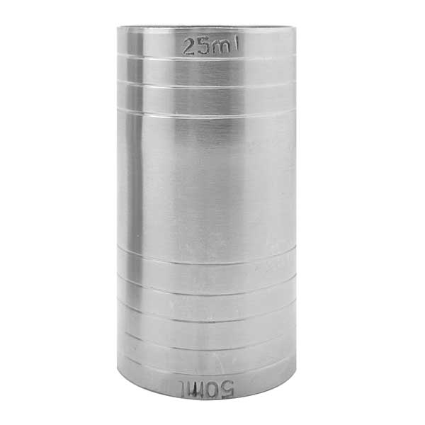 Thimble Measure Stainless Steel 25/50ml