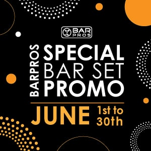 BarPros Special Bar Set Promo