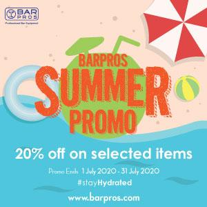 BarPros Summer Promo