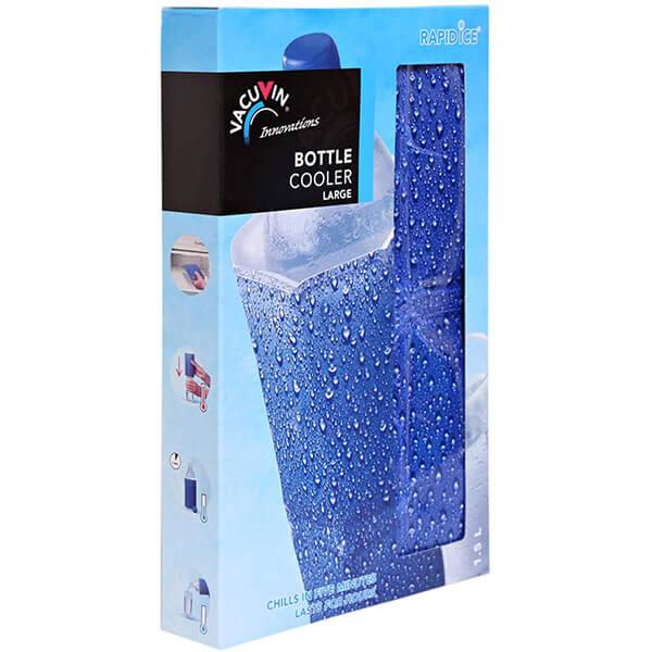 Vacu Vin Bottle Cooler Large Blue