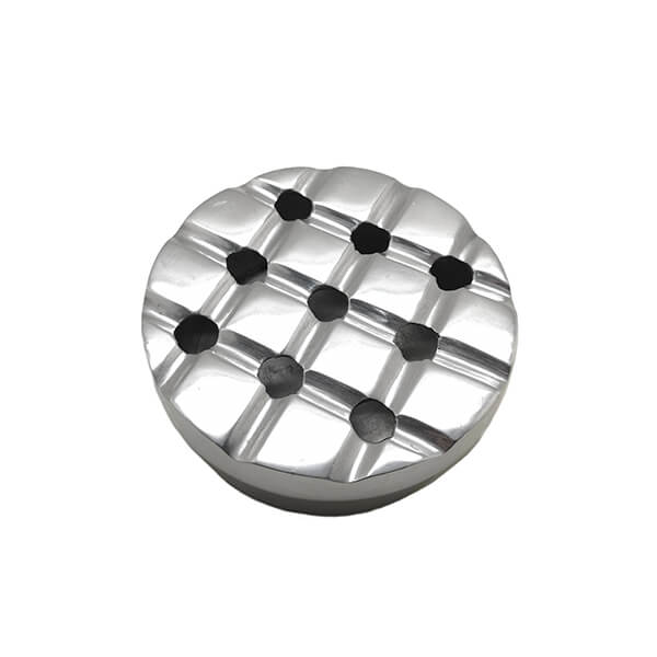 Round Aluminum Windproof Ashtray 9cm