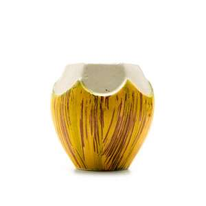 450ml Yellow Coconut Tiki Mug Ceramic