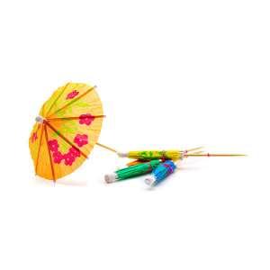 Parasol Wood Pick 10cm