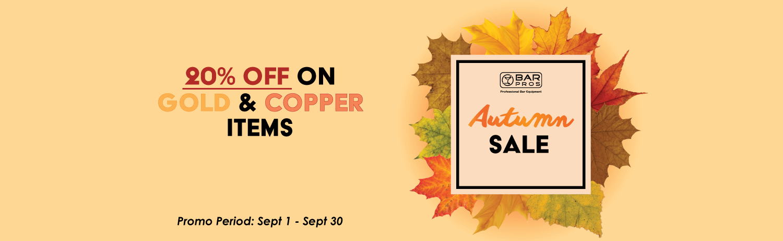 BarPros Autumn Sales