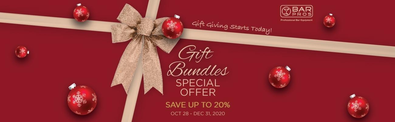 BarPros Gift Set Promo