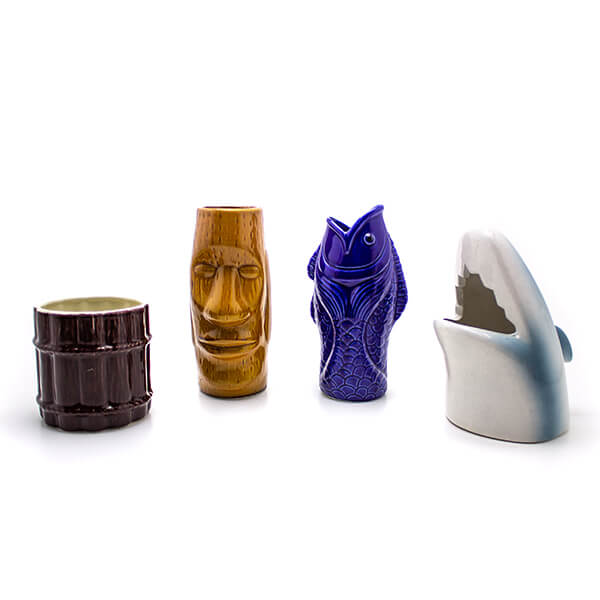 Tiki Mug Gift Set