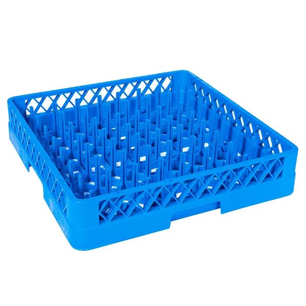 Plate Dish Rack All Purpose Plate/Tray Peg Rack - Blue