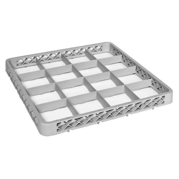 16 Compartment Rack Extender - Grey 50x50x4cm